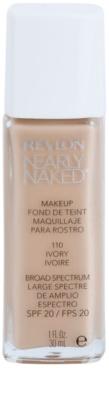 Revlon Cosmetics Nearly Naked™ base líquida para maquilhagem nude