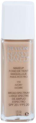 Revlon Cosmetics Nearly Naked™ maquillaje líquido para maquillaje desnudo