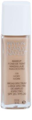 Revlon Cosmetics Nearly Naked™ tekoči puder za nago ličenje