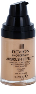 Revlon Cosmetics Photoready™ Airbrush Effect™ podkład w płynie SPF 20 1