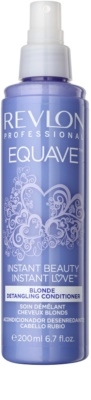 Revlon Professional Equave Blonde conditioner Spray Leave-in pentru par blond 1