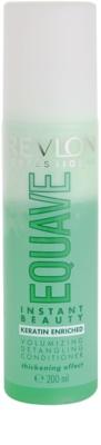 Revlon Professional Equave Volumizing balsam  (nu necesita clatire) pentru par fin