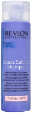 Revlon Professional Interactives Blonde Sublime champú