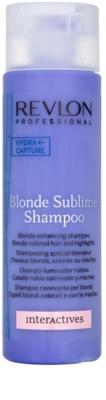 Revlon Professional Interactives Blonde Sublime šampon