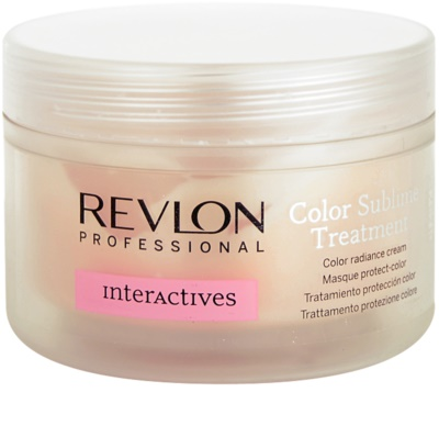 Revlon Professional Interactives Color Sublime mascarilla para cabello teñido 1