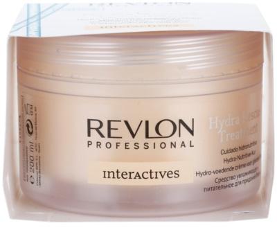 Revlon Professional Interactives Hydra Rescue maska pro suché a poškozené vlasy 3