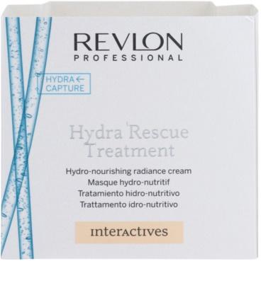 Revlon Professional Interactives Hydra Rescue maska pro suché a poškozené vlasy 4
