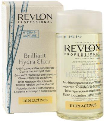 Revlon Professional Interactives Hydra Rescue szérum a rakoncátlan és töredezett hajra