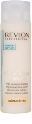 Revlon Professional Interactives Hydra Rescue šampon pro suché a poškozené vlasy