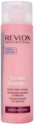 Revlon Professional Interactives Keratin regenerierendes Keratin Shampoo