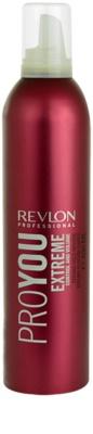 Revlon Professional Pro You Extreme espuma modeladora fixação forte