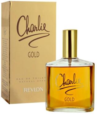 Revlon Charlie Gold Eau de Toilette para mulheres