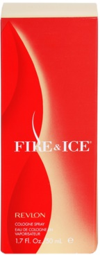 Revlon Fire & Ice Eau de Cologne für Damen 4