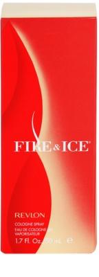 Revlon Fire & Ice Eau De Cologne pentru femei 4