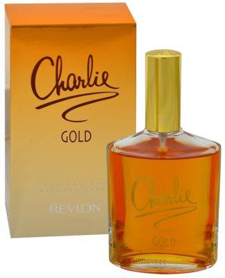 Revlon Charlie Gold Eau Fraiche eau de toilette nőknek
