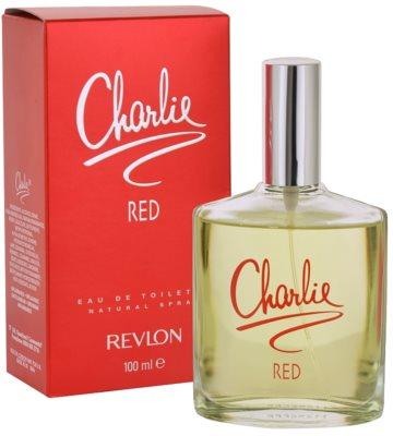 Revlon Charlie Red toaletna voda za ženske