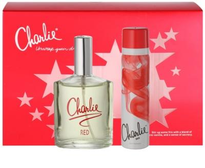 Revlon Charlie Red lote de regalo