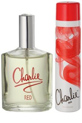 Revlon Charlie Red lote de regalo 1