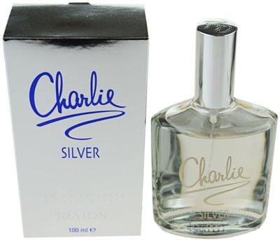 Revlon Charlie Silver toaletná voda pre ženy 1