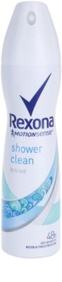 Rexona Dry & Fresh Shower Clean antitranspirante en spray 48h