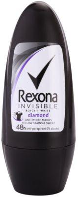 Rexona Invisible Black + White Diamond Antitranspirant-Deoroller