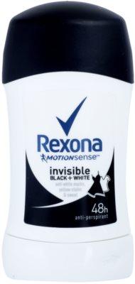Rexona Invisible Black + White Diamond твердий антиперспірант 48 годин