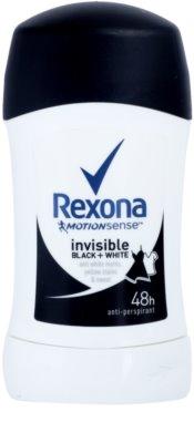 Rexona Invisible Black + White Diamond festes Antitranspirant 48h