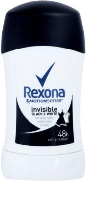 Rexona Invisible Black + White Diamond tuhý antiperspitant 48h