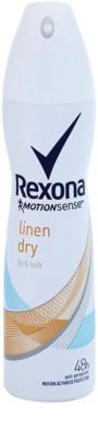 Rexona Dry & Fresh Linen Dry antiperspirant v spreji