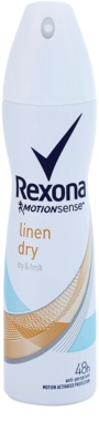 Rexona Dry & Fresh Linen Dry antitranspirante em spray