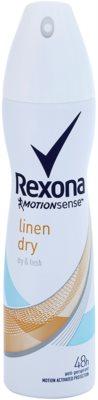 Rexona Dry & Fresh Linen Dry antitranspirante en spray