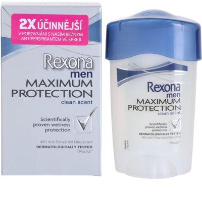 Rexona Maximum Protection Clean Scent Antitranspirant-Creme 1