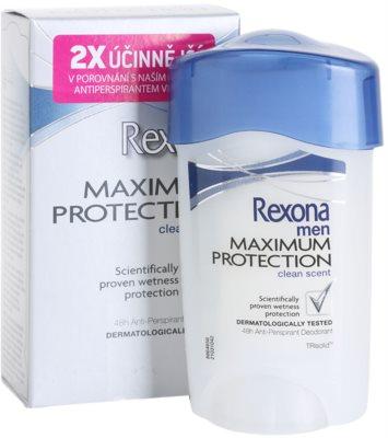 Rexona Maximum Protection Clean Scent krémes izzadásgátló 2