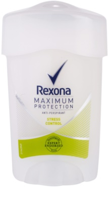 Rexona Maximum Protection Stress Control antitranspirante cremoso 48 h
