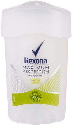 Rexona Maximum Protection Stress Control kremowy antyperspirant 48 godz.