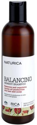 Rica Naturica Balancing Remedy Shampoo zur Widerherstellung des Gleichgewichts für fettiges Haar und Kopfhaut
