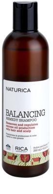 Rica Naturica Balancing Remedy шампунь для відновлення рівноваги для жирного волосся та шкіри голови