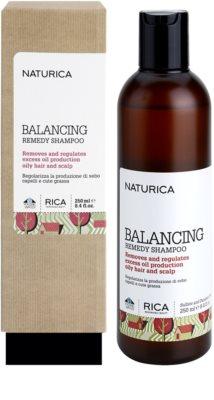 Rica Naturica Balancing Remedy șampon pentru a restabili echilibrul pentru par si scalp gras 1