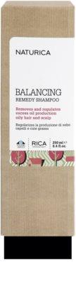 Rica Naturica Balancing Remedy șampon pentru a restabili echilibrul pentru par si scalp gras 2
