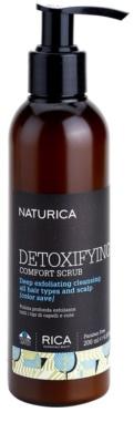 Rica Naturica Detoxifying Comfort detoxikační vlasový peeling pro zdravou pokožku hlavy