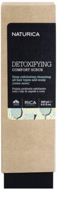 Rica Naturica Detoxifying Comfort peeling de desintoxicação para o cabelo para couro cabeludo saudável 2
