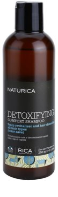 Rica Naturica Detoxifying Comfort champô desintoxicante para restaurar o couro cabeludo saudável