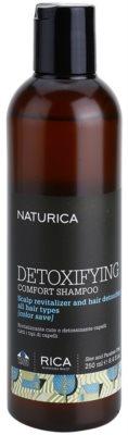 Rica Naturica Detoxifying Comfort детоксикиращ шампоан за възстановяване здравето на скалпа