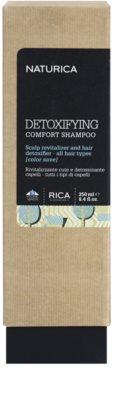 Rica Naturica Detoxifying Comfort detoxikační šampon pro obnovu zdravé vlasové pokožky 2