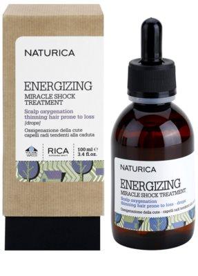 Rica Naturica Energizing Miracle energiespendendes Intensiv-Serum in Tropfenform für schütteres Haar 1