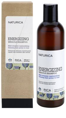 Rica Naturica Energizing Miracle champú energizante  para la pérdida de densidad del cabello 1