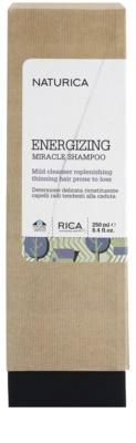 Rica Naturica Energizing Miracle champú energizante  para la pérdida de densidad del cabello 2