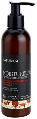 Rica Naturica Moisturizing Defense acondicionador hidratante para proteger el color del cabello para cabello normal y seco