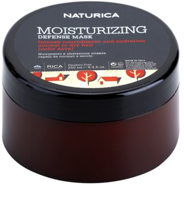 Rica Naturica Moisturizing Defense feuchtigkeitsspendende Maske zum Schutz der Farbe Für normales bis trockenes Haar