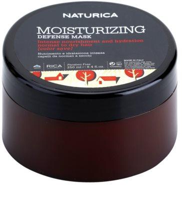 Rica Naturica Moisturizing Defense máscara hidratante para a proteção da cor para cabelo normal a seco